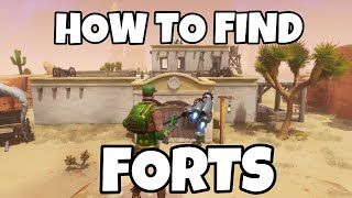 HOW TO EXPLORE FORTS IN FORTNITE SAVE THE WORLD