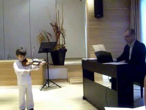 Henry plays violin ! He is  only 5 years old here !