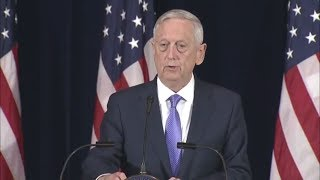 Rex Tillerson and Secretary James Mattis MAD DOG on NORTH KOREA & CHINA Joint Press Conference
