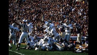 Oakland Raiders Brutal 1970's defense