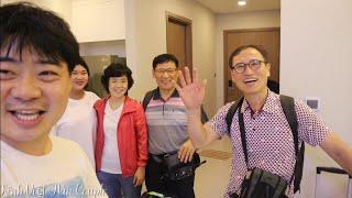 Đón Cha mẹ chồng và chú ở Hàn Quốc sang Việt Nam chơi