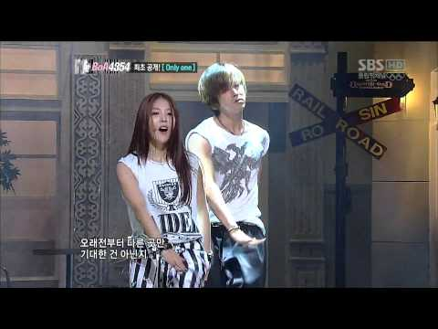 20120728 Only One - Yunho & BoA cut