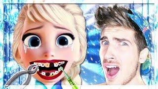 WTF HAPPENED TO ELSA?!   Frozen Makeup Games
