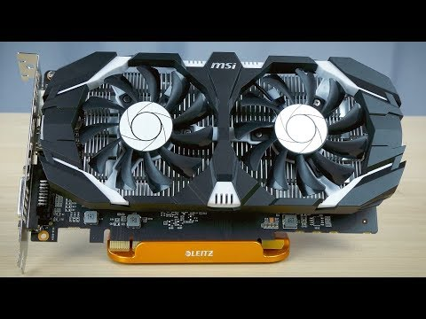 video MSI GeForce GTX 1050 Ti 4GT OC