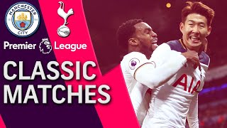 Manchester City v. Tottenham | PREMIER LEAGUE CLASSIC MATCH | 1/21/2017 | NBC Sports