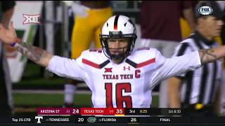 Arizona State vs Texas Tech Football Highlights