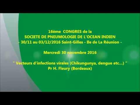 Vecteurs d'infections virales Chikungunya, dengue etc… Pr H. Fleury Bordeaux