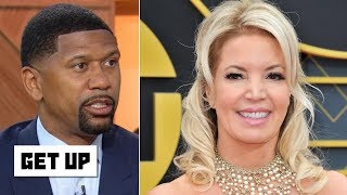 Jeanie Buss won despite Magic Johnson's sudden resignation – Jalen Rose | Get Up