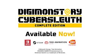 Digimon Story Cyber Sleuth: Complete Edition - Launch Trailer | NSW, PC