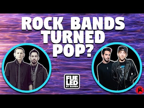 ROCK BANDS TURNING INTO POP BANDS?! What happened? | Not A Podcast #5