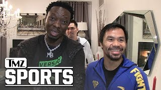 Manny Pacquiao Gets Anger Translator to Cuss Out Adrien Broner   TMZ Sports