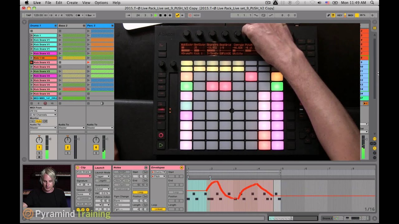 ableton live automation with push tutorial timo preece pyramind youtube. Black Bedroom Furniture Sets. Home Design Ideas