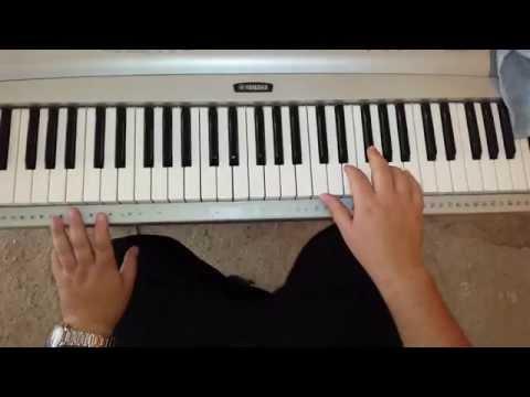 como tocar coritos pentecostales en el teclado