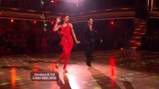 Zendaya & Valentin Chmerkovskiy - Samba - Dancing With the Stars 2013 - Week 10