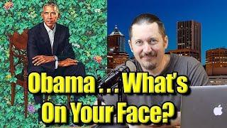 Barack Obama's Portrait Contain Sperm?  #ObamaPortrait