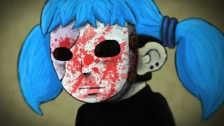 SCARY MASKED KID | Sally Face