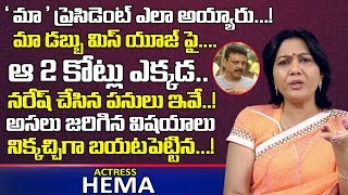 Actress Hema Speaks On MAA Association Issue..