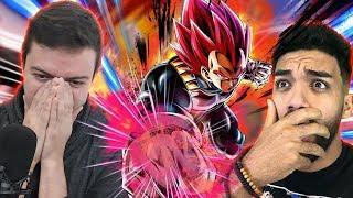 BRAH THIS LUCK! Rhymestyle x SeeReax SSG Vegeta Summons | Dragon Ball Legends
