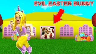 Escape From The EVIL EASTER BUNNY Before Its Too Late... (Roblox)