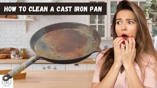 Clean a Cast Iron Pan (Restoration Using Electrolysis)