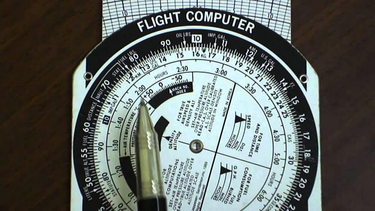 E6b Flight Computer Kilometers To Statue Or Nautical