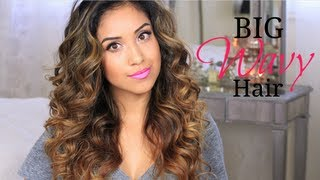 Big Wavy Hair Tutorial + Give-a-way!, beauty, hair, hairstyle, holiday, partyhair, newyearsevelook, newyearshairpartylook, newyearseve, newyearseveparty