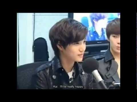 120515 EXO-K KAI's Ideal Type Cut @ Younha's Starry Night Radio