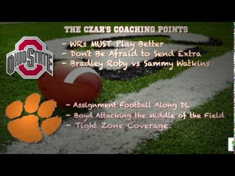 Football Gameplan's 2014 Orange Bowl Preview - Ohio State vs Clemson