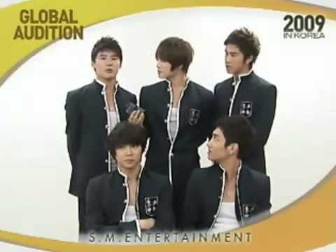 TVXQ Message SM Global Audition