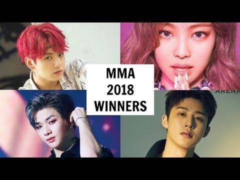 MELON MUSIC AWARDS 2018 WINNERS