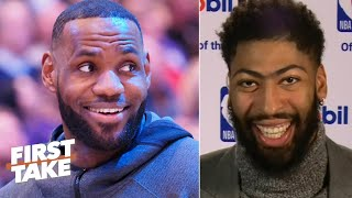 Anthony Davis is pushing LeBron to make the 2020 NBA All-Defensive 1st Team | First Take