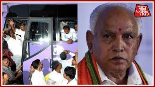 BJP Contacts 12 JDS MLAs In Karnataka; Congress Books Resort To Prevent MLA Poaching   Shatak AajTak
