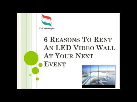 6 Reasons to Rent an LED Video Wall at your Next Event