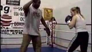 Tonya Harding Training in Portland, Oregon - 2003