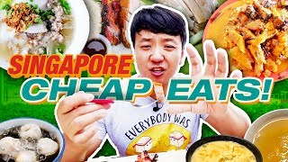 MUST TRY Singapore CHEAP EATS! Hawker Street Food Tour of Singapore