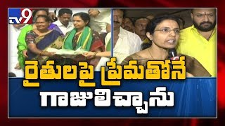 Nara Bhuvaneshwari gives befitting reply to YSRCP leaders ..