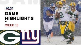 Packers vs. Giants Week 13 Highlights | NFL 2019