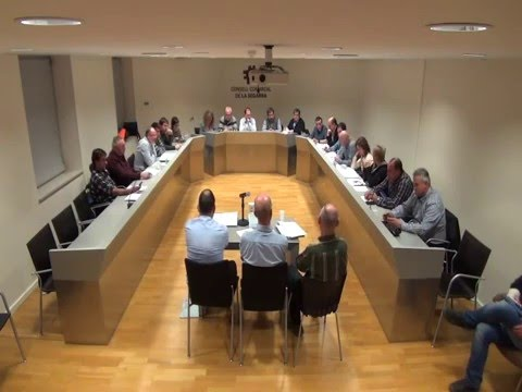 Ple Consell Comarcal de la Segarra