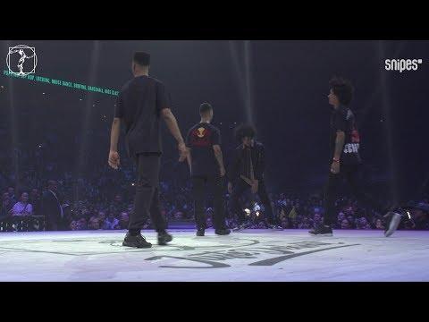 Les Twins (Larry & Laurent) vs Diablo & Stalamuerte - Hip hop quarter final - Juste Debout 2019