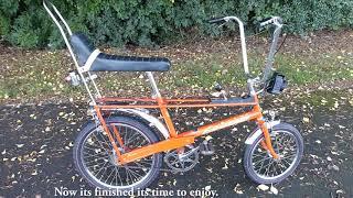 Malvern Star Raleigh Chopper MK1. Rare bike in the UK, nice early model HD