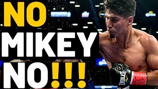 NO MIKEY!!! Don't fight DANNY GARCIA!