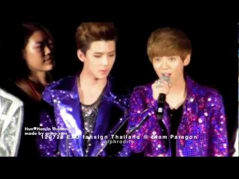 Hun♥Han [Sehun-Luhan] in Thailand
