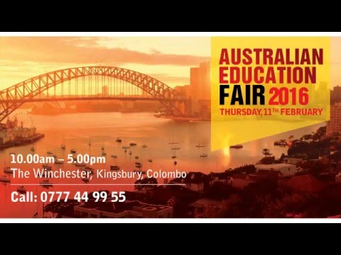 The Biggest Australian Education Fair in Sri Lanka