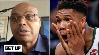 Charles Barkley is concerned Giannis' time with the Bucks could turn into a KD situation   Get Up