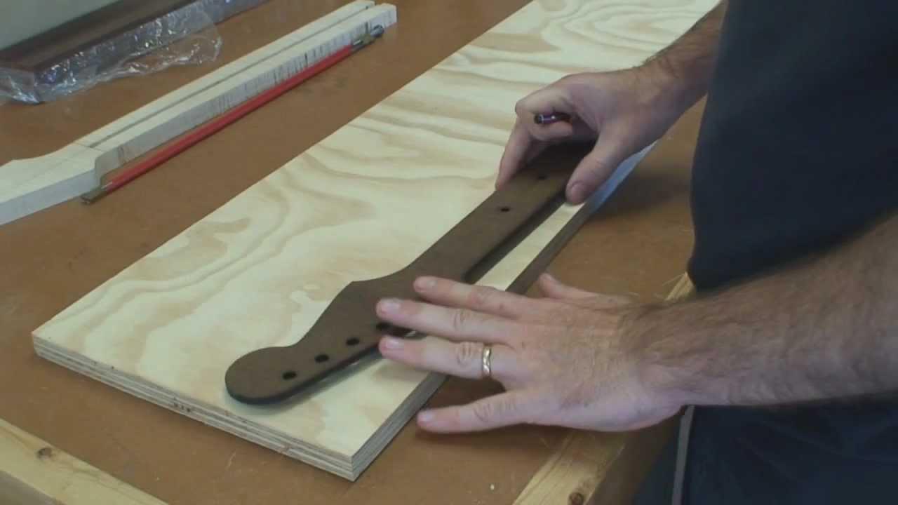 stratocaster guitar build part 1 building a stratocaster guitar neck youtube. Black Bedroom Furniture Sets. Home Design Ideas