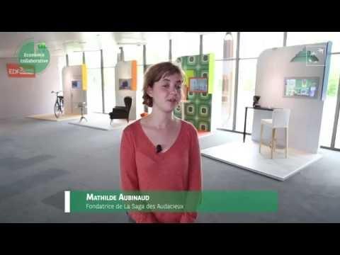 Mathilde Aubinaud témoigne sur l'économie et la consommation collaboratives de demain