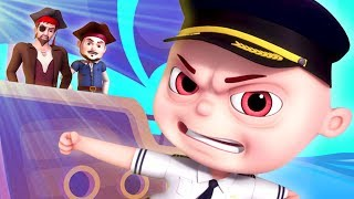 Pirates Of Bermuda Episode   Zool Babies As Naval Commanders   Cartoon Animation For Children