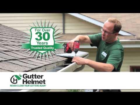 Gutter Helmet Helmet Heat