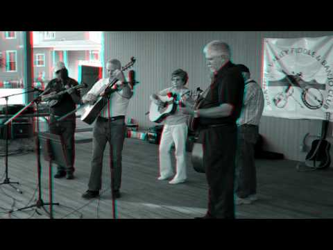 Bluegrass In Roanoke Virginia 3D Video Anaglyph