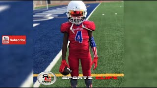 Jaylen JigStick Huff | 8U Laced Facts | Youth Football Experience | Skills Drills